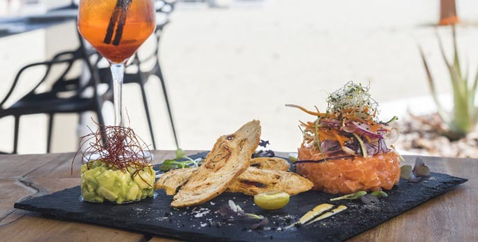 The aromas and flavours of Italy in Sir Rocco Beach by Ushuaïa